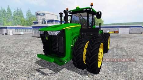 John Deere 9410R [triples] pour Farming Simulator 2015