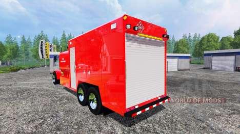 Peterbilt 378 Fire Department für Farming Simulator 2015