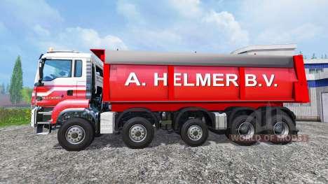 MAN TGS A. Helmer B.V. v1.1 pour Farming Simulator 2015