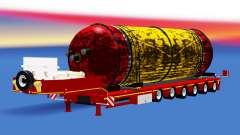 Low sweep mit einer Ladung-tank für American Truck Simulator