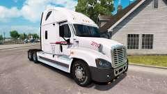 Скин P. A. M.-Transport на Freightliner Cascadia für American Truck Simulator