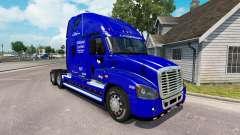 Скин Nationale Fluggesellschaft на Freightliner Cascadia für American Truck Simulator