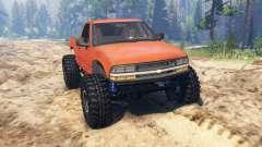 Chevrolet S-10 Crawler für Spin Tires