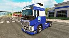 KLG skin für Volvo-LKW für Euro Truck Simulator 2