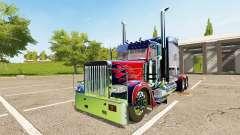 Peterbilt 388 Optimus Prime pour Farming Simulator 2017