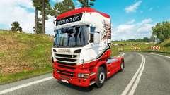 Sarantos transport skin für den Scania truck