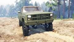 Chevrolet K5 Blazer M1008 für Spin Tires