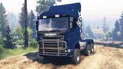 Scania R730 v2.0 für Spin Tires