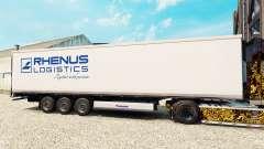 Haut Rhenus Logistics für semi-refrigerated für Euro Truck Simulator 2