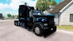 Bluesway skin für den truck-Peterbilt 389 für American Truck Simulator