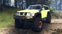 Nissan Patrol v3.0 pour Spin Tires