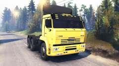 KamAZ-6460 v2.0 pour Spin Tires
