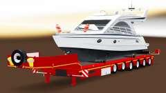 Low sweep mit einer Ladung von Yachten für American Truck Simulator