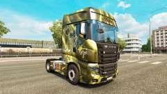 Les peaux des Boissons énergisantes sur le tracteur Scania R700 pour Euro Truck Simulator 2
