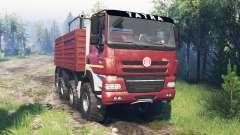 Tatra Phoenix T 158 8x8 v7.0 pour Spin Tires