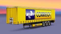 Correios Logistic Haut für Anhänger für Euro Truck Simulator 2