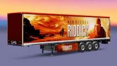 Riddick de la peau pour les remorques pour Euro Truck Simulator 2