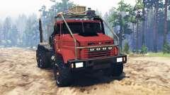 KRAZ-64372 für Spin Tires