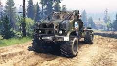 KrAZ-258 v3.0 pour Spin Tires