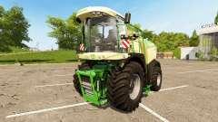 Krone BiG X 580 pour Farming Simulator 2017