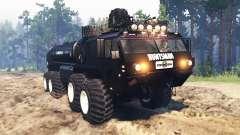 Oshkosh HEMTT M977 Huntsman pour Spin Tires