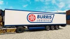 Haut Burris Logistics für semi-refrigerated für Euro Truck Simulator 2