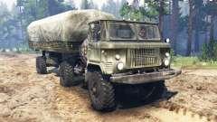 GAS-66П für Spin Tires