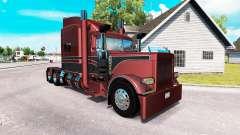 Metallic skin für den truck-Peterbilt 389 für American Truck Simulator