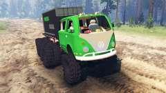 Volkswagen Samba 8x8 für Spin Tires