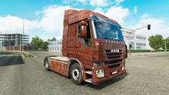 La peau de Rouille sur le camion Iveco pour Euro Truck Simulator 2