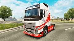 TruckSim de la peau pour Volvo camion pour Euro Truck Simulator 2