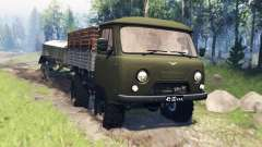UAZ-452Д v4.0 pour Spin Tires