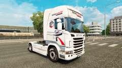 Intermarche-skin für den Scania truck für Euro Truck Simulator 2