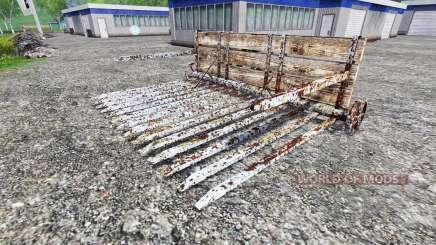 Drücken der rake für Farming Simulator 2015