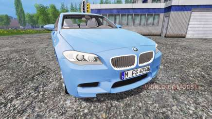 BMW M5 (F10) 2011 [zivil kdow] für Farming Simulator 2015