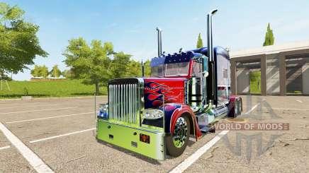 Peterbilt 388 Optimus Prime für Farming Simulator 2017