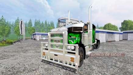 Peterbilt 379 v1.9 pour Farming Simulator 2015