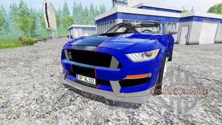 Ford Mustang GT für Farming Simulator 2015