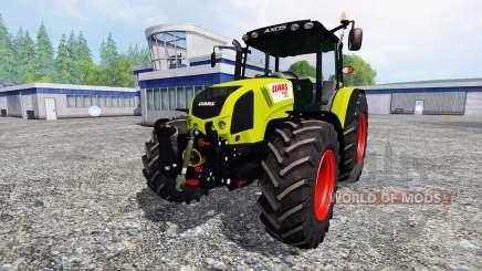 CLAAS Axos 330 v2.0 pour Farming Simulator 2015