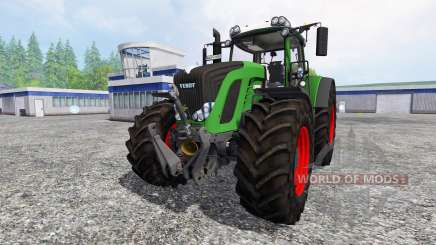 Fendt 939 Vario Wheelshader [washable] pour Farming Simulator 2015