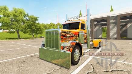 Peterbilt 388 Day Cab für Farming Simulator 2017