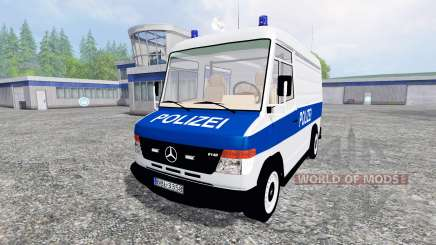 Mercedes-Benz Vario Polizei pour Farming Simulator 2015