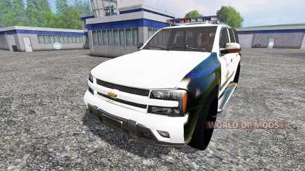 Chevrolet TrailBlazer Police K9 für Farming Simulator 2015