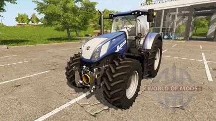 New Holland T7.270 Heavy Duty Blue Power pour Farming Simulator 2017