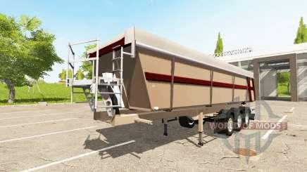 Schmitz Cargobull SKI 24 Pernille Holmboe pour Farming Simulator 2017