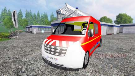 Renault Master VTU pour Farming Simulator 2015