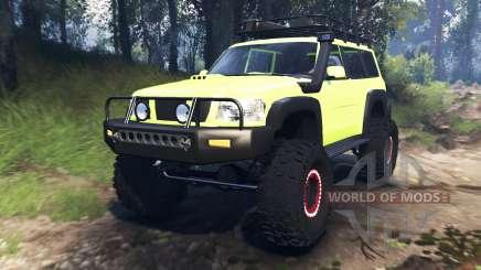 Nissan Patrol v3.0 für Spin Tires