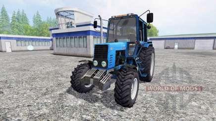 MTZ-82.1 Belarus turbo für Farming Simulator 2015