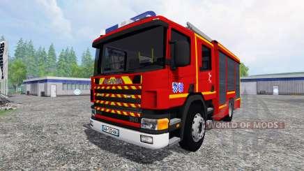 Scania P94D 260 GIMAEX v0.4.1 für Farming Simulator 2015