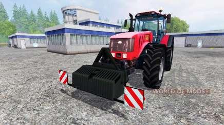La biélorussie 3022 DC.1 pour Farming Simulator 2015